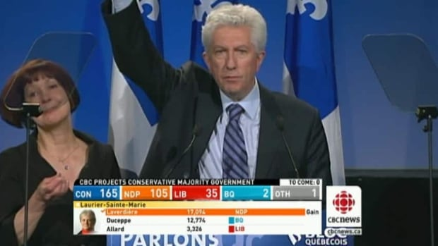 Duceppe in defeat
