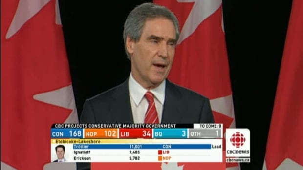 Ignatieff in defeat