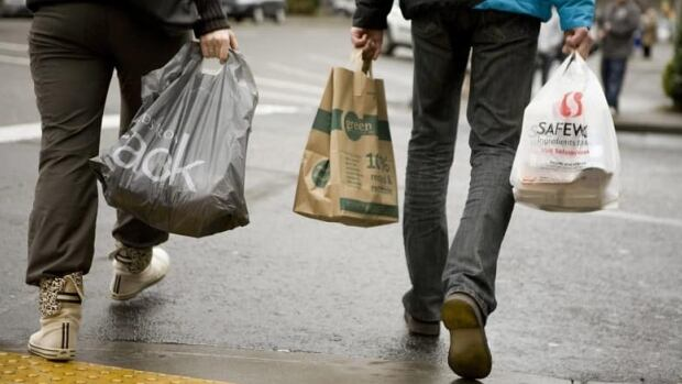 Montreal's plastic bag ban is to go into effect on Jan. 1, 2018.
