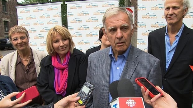 Marcel Côté announced the resignation of Ierfino today after a letter he signed supporting the return to Canada of a man with Mob connections came to light.