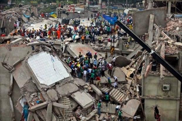 Bangladesh factory collapse 6
