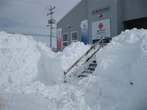 Rankin Inlet blizzard