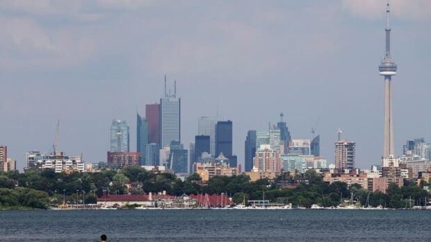 Toronto's skyline on July 17, 2013.