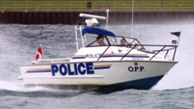 The OPP was to continue searching for the man Saturday.