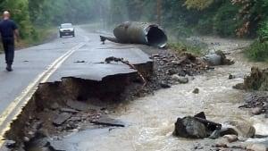 Ontario flood damage