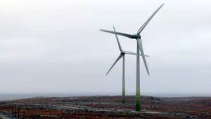 Diavik turbines