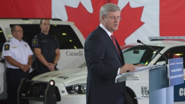 Prime Minister Stephen Harper predicts Quebec's proposed charter of values won't get very far, but says the federal government will challenge it in court if it violates Quebecers' rights. He made the remarks during following an announcement in Richmond, B.C. Monday.