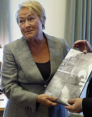 Pauline Marios Quebec Charter of Values