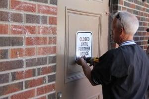 kitchener the boathouse locks changed