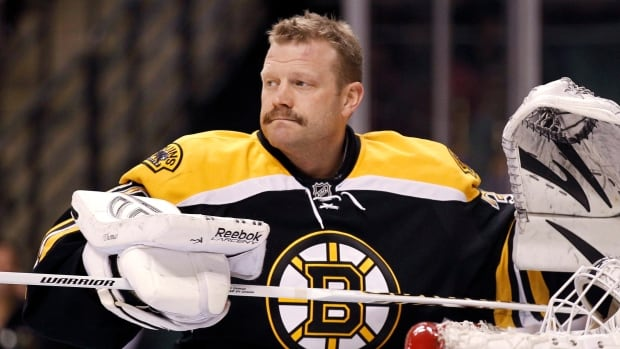 Former Bruins goalie Tim Thomas has twice won the Vezina Trophy as the NHL's top netminder.