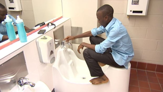Sinks for Muslim prayer