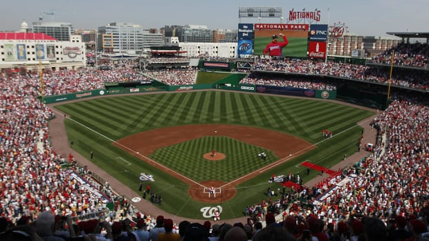 The Nationals have postponed Monday night's game against the Atlanta Braves at Nationals Park following shootings at the nearby Navy Yard. The teams will play a day/night doubleheader on Tuesday.