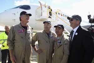 Bombardier-pilot