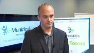 Craig Pollett, the CEO of Municipalities Newfoundland and Labrador