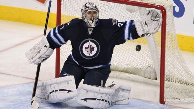 Winnipeg Jets goalie Ondrej Pavelec played in a league-high 44 games last season.