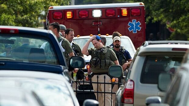 Mass shooting at U.S. navy yard
