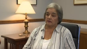 NDP Leader Lorraine Michael, September 16 2013