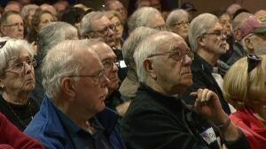 Retired civil servants worried