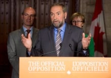 NDP on suspension of Parliament