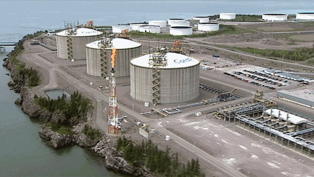 The Canaport LNG terminal, located on Saint John's east side, is owned by Repsol and Irving Oil Ltd.