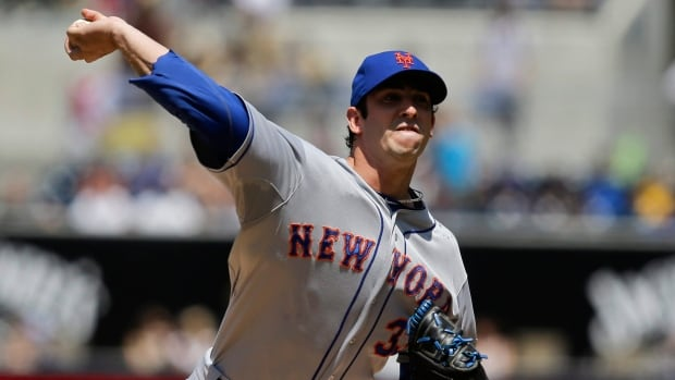 New York Mets starting pitcher Matt Harvey was diagnosed with a partially torn ulnar collateral ligament by Mets doctors on Aug. 26.