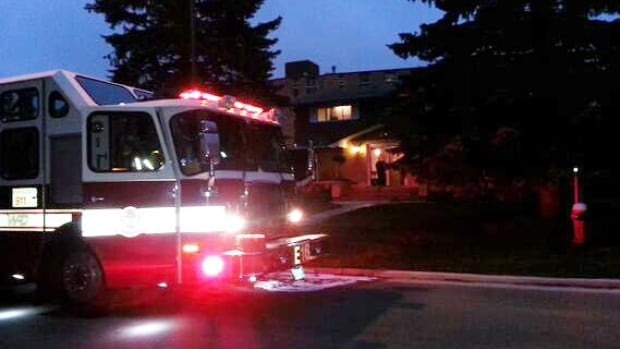 Emergency crews were called to a Garden City duplex to extinguish a small fire on Wednesday morning.