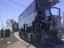 TSB crashed bus