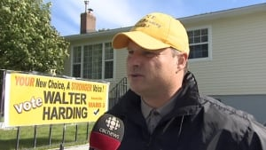 Walter Harding candidate for Ward 3 in 2013 election in St. John's