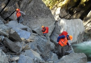 Haast gorge search