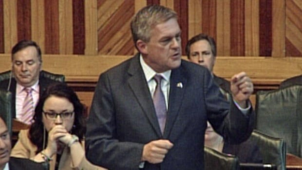Premier David Alward unveiled a major cabinet shuffle on Thursday.