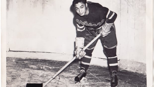 In March 1948, Larry Kwong played one shift late in the third period for the New York Rangers in a game against the Montreal Canadiens at the old Montreal Forum. He was the first person of colour to play in the NHL.