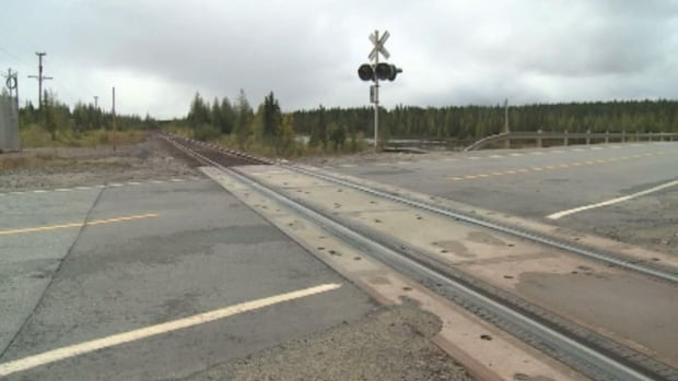 Labrador west is the only region in the province with a railway.