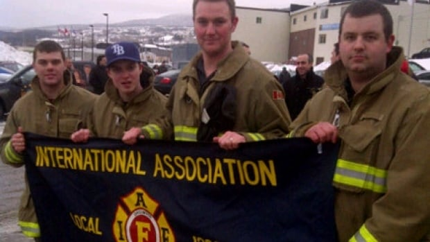 Two unions, including the Corner Brook firefighters association, are backing suspended member Geoff Sparkes.