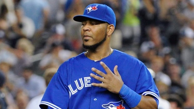 Edwin Encarnacion finished with 36 homers, 104 RBIs and a .272 batting average this season.