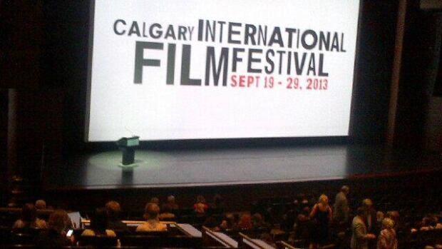 The Calgary International Film Festival opened Thursday night with a gala.
