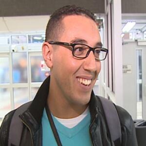 Youcef Zaidi arrives in Saskatoon