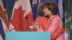 Premier Christy Clark at UBCM convention