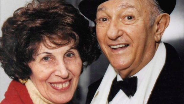 """Anne and """"Honest"""" Ed Mirvish are shown in a handout photo dated circa 1999. Anne Lazar Mirvish has died at age 94."""