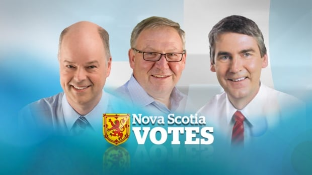 Jamie Baillie, Darrell Dexter and Stephen McNeil are all vying to become Nova Scotia's next premier.
