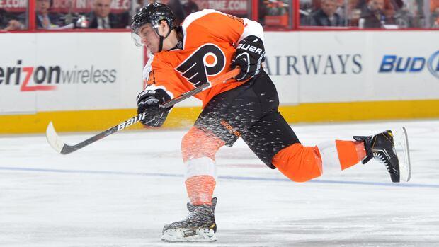 Philadelphia Flyers forward Matt Read scored 11 goals and 13 assists in 42 games last season.