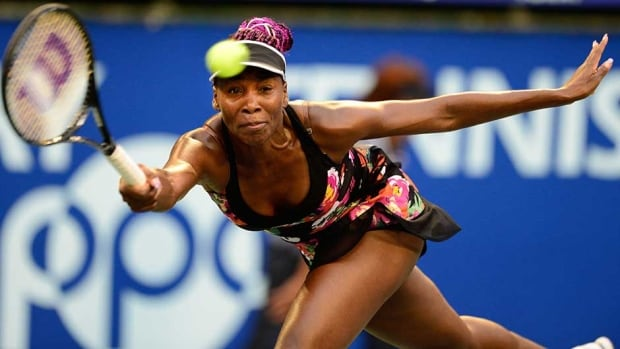 Venus Williams needed just 1 hour, 4 minutes at Ariake Colosseum to dispatch Mona Barthel in Tokyo on Sunday.