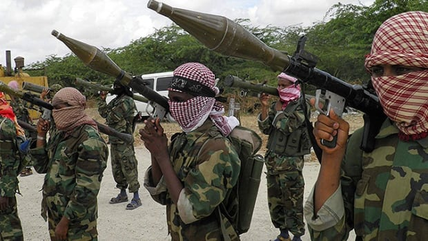 Al-Shabaab claimed responsibility for an attack on a hotel in central Somalia in March that the al-Qaeda-linked group says killed soldiers, guards and peace keepers. A second suicide bomber kill three people at the hotel Thursday.