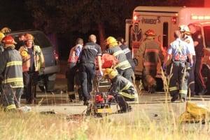 Crash on Gateway Road