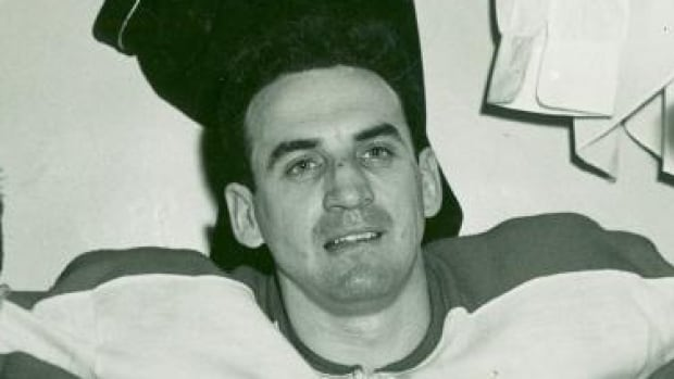 """Howard """"Rip"""" Riopelle played with the Montreal Canadiens from 1947-50."""