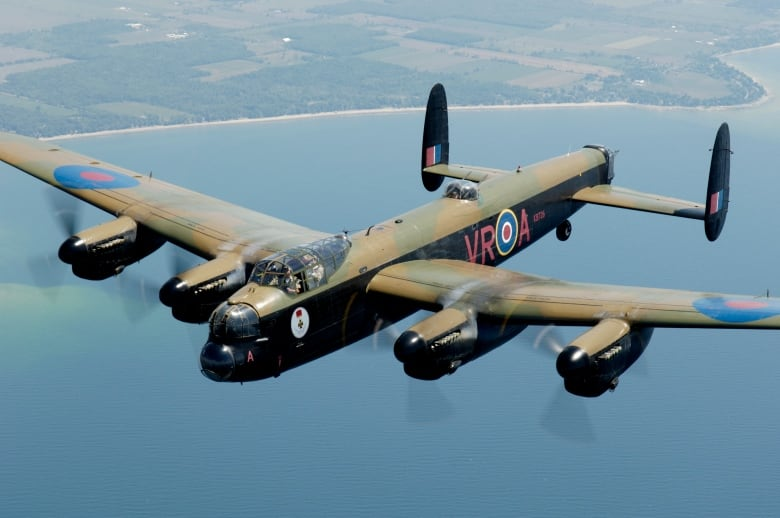 Hamilton's Mynarski Memorial Avro Lancaster Mk X bomber was built at Victory Aircraft in Malton, Ont., in 1945.