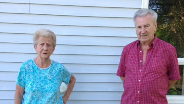 Edna and Edgar Spurrell say construction has dried up their water supply.