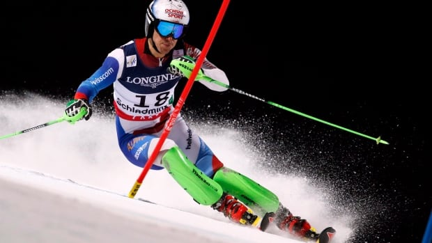 Switzerland's Carlo Janka, seen in a race in February, won gold in the giant slalom at the Vancouver Games and was the overall World Cup championin 2010-11.