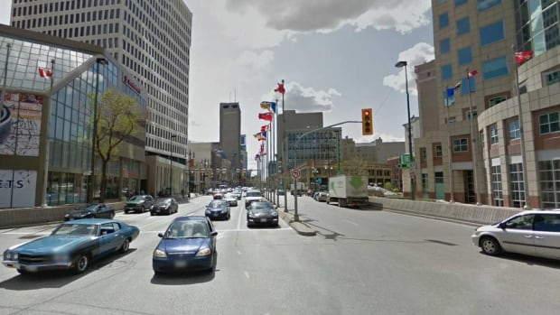 Winnipeg's best-known intersection, Portage Avenue and Main Street, has been closed to pedestrians for more than 35 years.