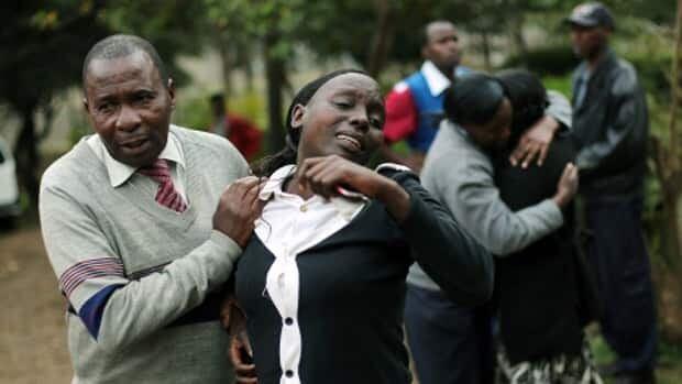 Days of mourning in Kenya