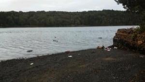 Submerged car Halifax